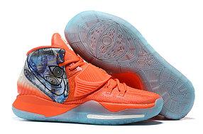 """Баскетбольные кроссовки Nike Kyrie 6 (VI) """"Orange""""  from Kyrie Irving"""