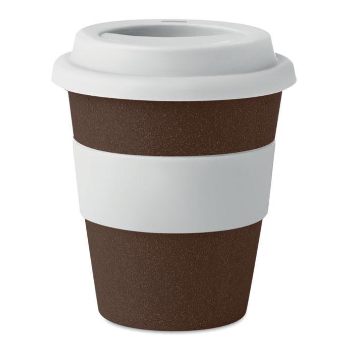 Термокружка из кофейной шелухи, BRAZIL WHITE