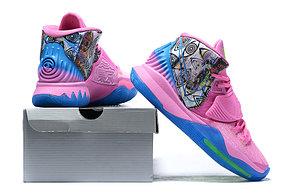 "Баскетбольные кроссовки Nike Kyrie 6 (VI) ""Pink-Blue"" from Kyrie Irving, фото 3"