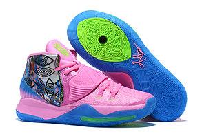 "Баскетбольные кроссовки Nike Kyrie 6 (VI) ""Pink-Blue"" from Kyrie Irving, фото 2"