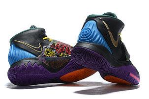 """Баскетбольные кроссовки Nike Kyrie 6 (VI) """"Black"""" from Kyrie Irving, фото 2"""