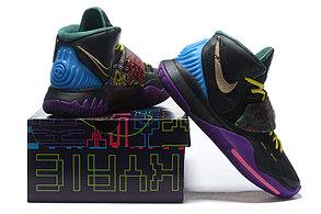 """Баскетбольные кроссовки Nike Kyrie 6 (VI) """"Black"""" from Kyrie Irving, фото 3"""
