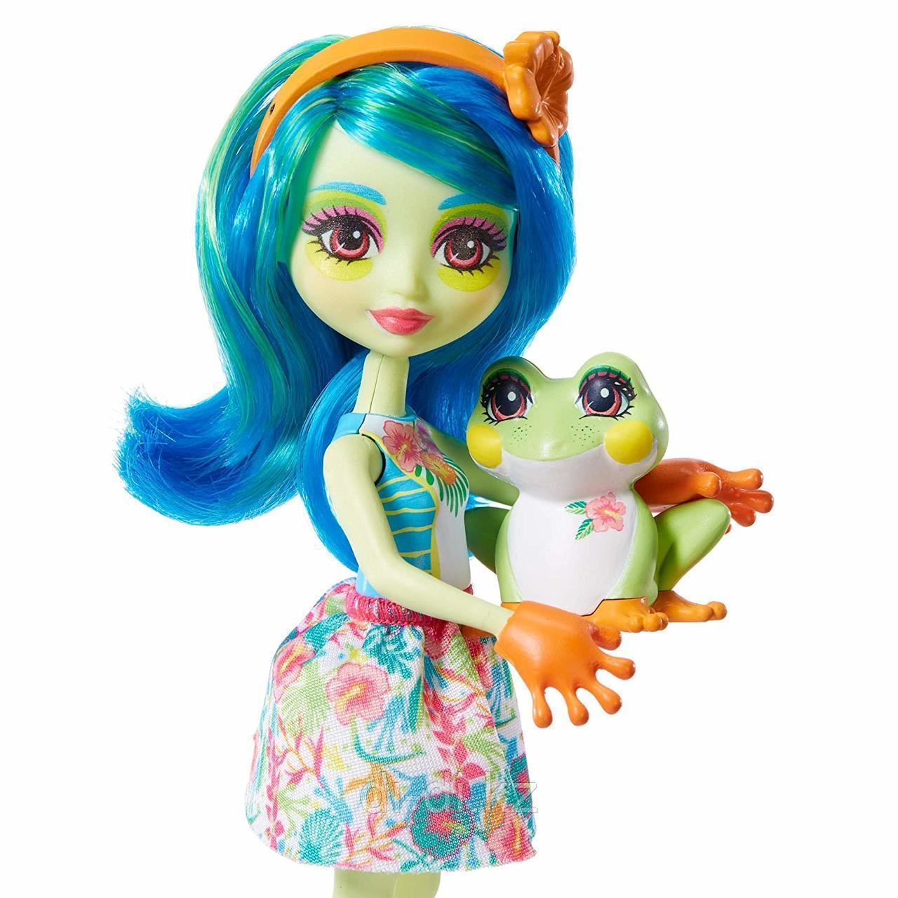 Кукла Enchantimals Тамика Квакша с любимой зверюшкой, 15 см - фото 2