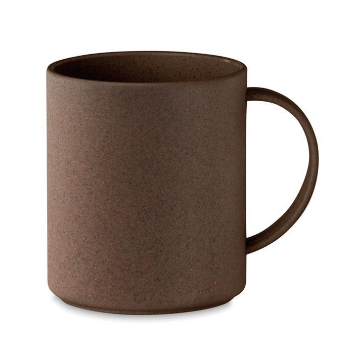 Кружка со жмыхом кофе 300мл, BRAZIL MUG