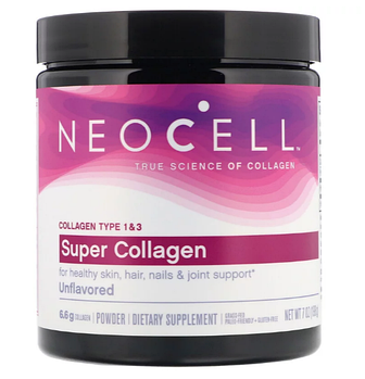 Neocell, Super Collagen, без ароматизаторов, 198 г (7 унций)