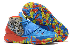 "Баскетбольные кроссовки Nike Kyrie 6 (VI) ""Blue-Red"" from Kyrie Irving, фото 2"