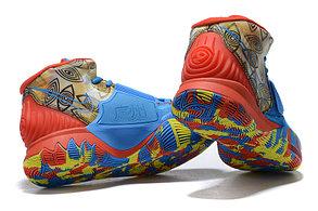 "Баскетбольные кроссовки Nike Kyrie 6 (VI) ""Blue-Red"" from Kyrie Irving, фото 3"