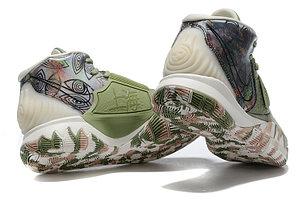 "Баскетбольные кроссовки Nike Kyrie 6 (VI) ""Green-Gray"" sneakers from Kyrie Irving, фото 2"