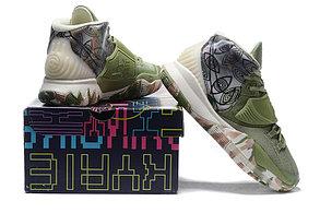 "Баскетбольные кроссовки Nike Kyrie 6 (VI) ""Green-Gray"" sneakers from Kyrie Irving, фото 3"