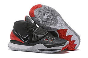 "Баскетбольные кроссовки Nike Kyrie 6 (VI) ""Gray-Red"" sneakers from Kyrie Irving"