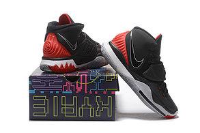 "Баскетбольные кроссовки Nike Kyrie 6 (VI) ""Gray-Red"" sneakers from Kyrie Irving, фото 3"