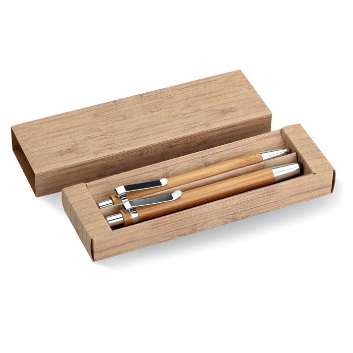 Набор: ручка и карандаш, BAMBOOSET