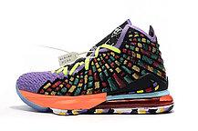 "Баскетбольные кроссовки Nike Lebron 17 (XVII ) ""Multicolor"" sneakers from LeBron James, фото 2"