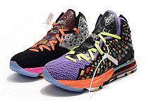 "Баскетбольные кроссовки Nike Lebron 17 (XVII ) ""Multicolor"" sneakers from LeBron James, фото 3"