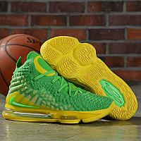 "Баскетбольные кроссовки Nike Lebron 17 (XVII ) ""Green"" from LeBron James"