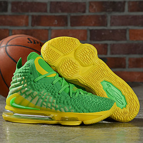 "Баскетбольные кроссовки Nike Lebron 17 (XVII ) ""Green"" from LeBron James, фото 2"
