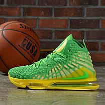 "Баскетбольные кроссовки Nike Lebron 17 (XVII ) ""Green"" from LeBron James, фото 3"
