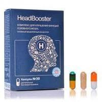 Усилитель мозговой активности Head Booster (Хэд Бустер) 30 капсул