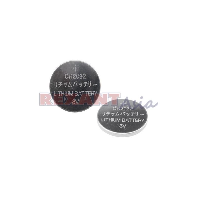 Литиевые батарейки CR2032, 3 В, 220 mAh,  5 шт. (30-1108) REXANT