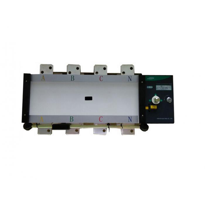 SQ5-630 4P Реверсивный рубильник с мотор приводом 630A, 400/230V
