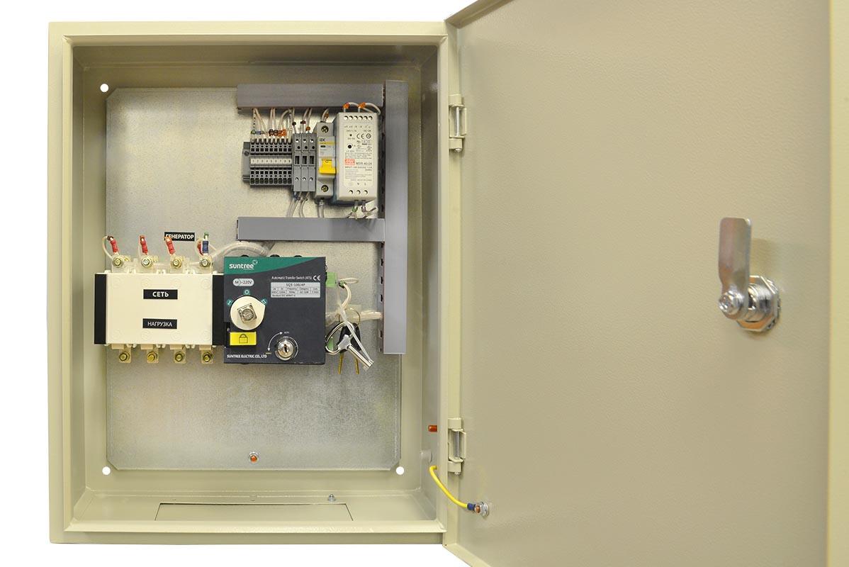 Блок АВР (Автоматический ввод резерва) для электростанций 125 А
