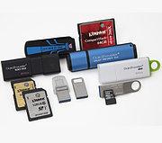 Носители информации:USB Flash,Micro SD,SD карты,Compact flash, внешние жесткие диски, диски: CD,DVD