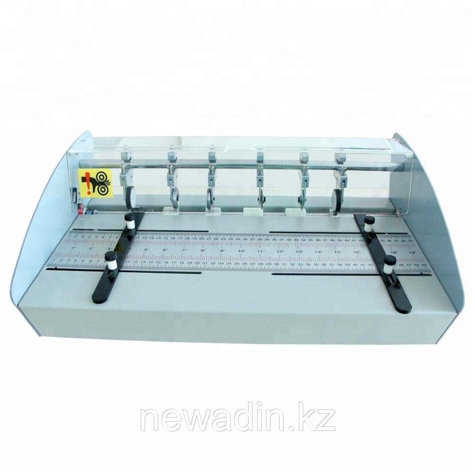 Электрический биговальный/перфорирующий станок формата А2 для малых и средний типографий
