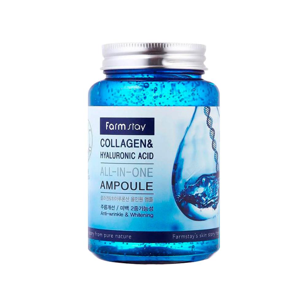 Сыворотка  FarmStay Collagen & Hyaluronic acid