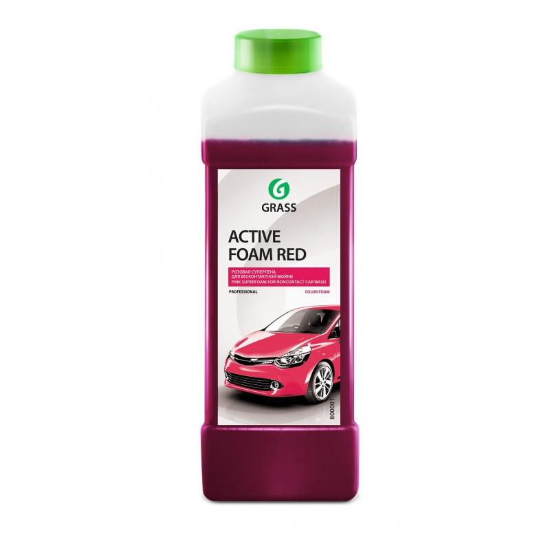"""Автошампунь для ручной мойки автомобиля GraSS  """"Active Foam Red"""""""