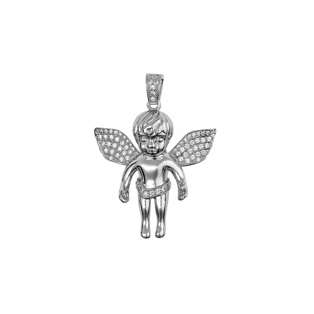 Серебряный кулон Ангел Brosh Jewellery (Серебро 925) (серебряный)