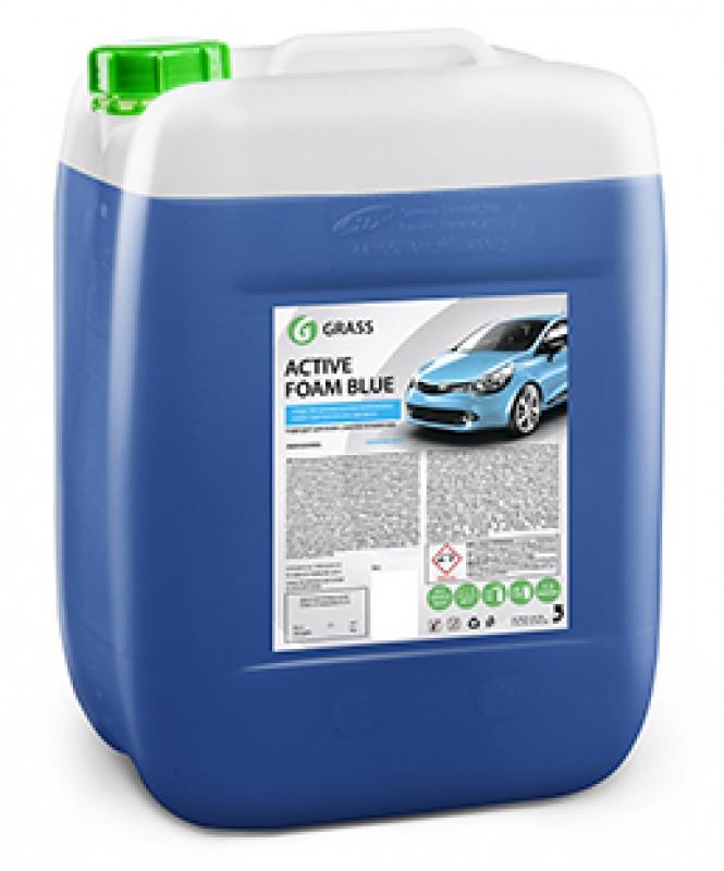 """Автошампунь для ручной мойки автомобиля GraSS  """"Active Foam Blue"""""""