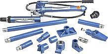 Гидравлическая растяжка STELS 10 т 16 предметов металлический кейс