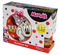 """Набор детской посуды Dinner Set 3 Минни Маус """"Minnie"""" чашка тарелка кружка"""