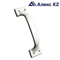Ручка дверная-скоба РС-120 полимер серебро