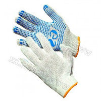 Перчатки GS трикотажные с ПВХ