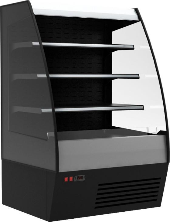 Горка холодильная Carboma F 16-08 VM 1,0-2 (1600/875 ВХСп-1,0) (стеклопакет)