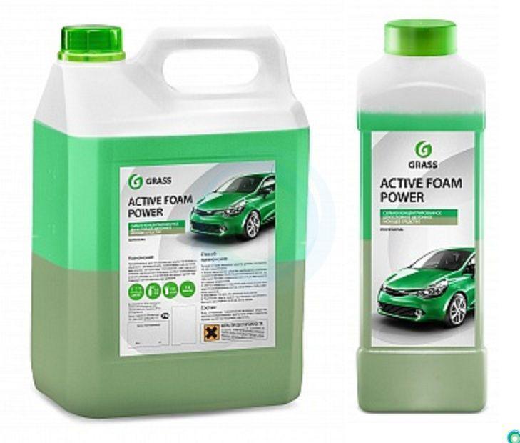 """Автошампунь для ручной мойки автомобиля GraSS """"Active Foam  Power"""""""
