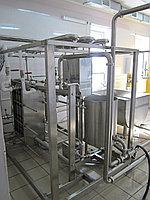 Линия производства пастеризованного молока и сливок на 1000 литров