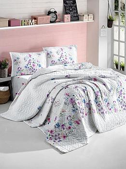 Комплект покрывало с постельным бельем, зима - лето.