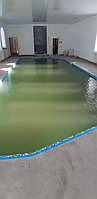 Скиммерный бассейн. Размер = 11,5 х 4,5 х 1,5-2,0 м. Адрес: г. Алматы, ул. Жамакаева. 1