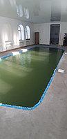 Скиммерный бассейн. Размер = 11,5 х 4,5 х 1,5-2,0 м. Адрес: г. Алматы, ул. Жамакаева. 2