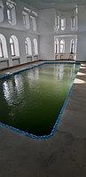 Скиммерный бассейн. Размер = 11,5 х 4,5 х 1,5-2,0 м. Адрес: г. Алматы, ул. Жамакаева. 4