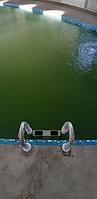 Скиммерный бассейн. Размер = 11,5 х 4,5 х 1,5-2,0 м. Адрес: г. Алматы, ул. Жамакаева. 5