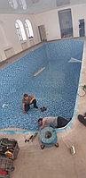 Скиммерный бассейн. Размер = 11,5 х 4,5 х 1,5-2,0 м. Адрес: г. Алматы, ул. Жамакаева. 16