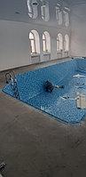 Скиммерный бассейн. Размер = 11,5 х 4,5 х 1,5-2,0 м. Адрес: г. Алматы, ул. Жамакаева. 18