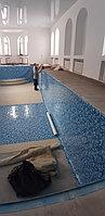 Скиммерный бассейн. Размер = 11,5 х 4,5 х 1,5-2,0 м. Адрес: г. Алматы, ул. Жамакаева. 20