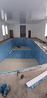 Скиммерный бассейн. Размер = 11,5 х 4,5 х 1,5-2,0 м. Адрес: г. Алматы, ул. Жамакаева. 21