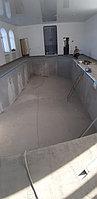 Скиммерный бассейн. Размер = 11,5 х 4,5 х 1,5-2,0 м. Адрес: г. Алматы, ул. Жамакаева. 22