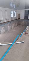Скиммерный бассейн. Размер = 11,5 х 4,5 х 1,5-2,0 м. Адрес: г. Алматы, ул. Жамакаева. 23