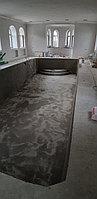 Скиммерный бассейн. Размер = 11,5 х 4,5 х 1,5-2,0 м. Адрес: г. Алматы, ул. Жамакаева. 35